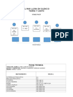 Ficha Tecnica y Stage Plot