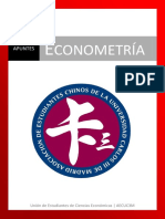 Apuntes Chinos de Econometria