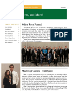 lambda delta newsletter - march