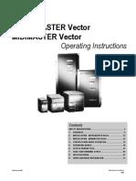 siemens micromaster vector manual pdf power inverter cable rh scribd com manual inversor siemens midimaster vector Book Vector