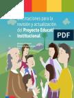Orientaciones- Actualizacion PEI_2015