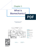 Chapter 1 Biomechanic