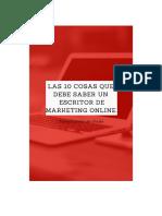 Las10cosasquedebesaberunescritordemarketing Online