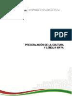 Diagnostico Lengua y Cultura Maya Quintana Roo SEDESI