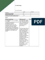 aangepaste sterkte - zwakte analyse format bvo