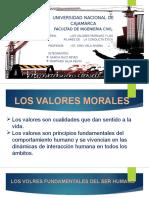 LOS VALORES MORALES Y LOS PILARES DE LA CONDUCTA ETICA