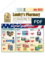 Landry's Pharmacy - July 2010 On Sale
