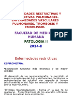 Enf Restrictiva y Obstructiva Pulmonar