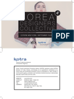 2015.9 Korea Designers Collective_ VOL 4 (Top 12 Brands)
