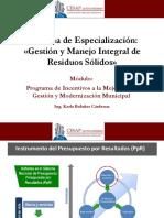 Programa de Incentivos y Caracterización de RRSS_I Parte