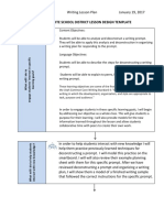 writing lesson plan 1-18-17