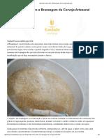 Brassagem Da Cerveja Artesanal