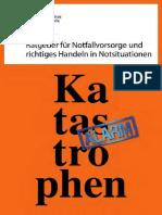 Katastrophenschutz Ratgeber Broschüre
