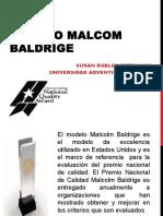Modelo Malcom Baldrige