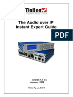 Audio Over IP Instant Expert Guide v1