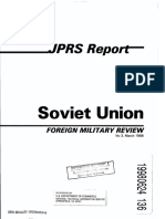SovietUnion ForeignMilitaryReview 3-1988