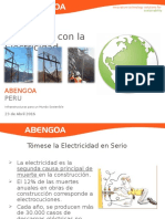 Riesgos y Accidentes Con La Electricidad