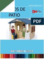 Catalogo Juegos de Patio, Educaxis Spa