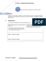 Practica2.1. Alimentador Dosificador
