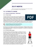 3.10.Poids, Masse Et Inertie