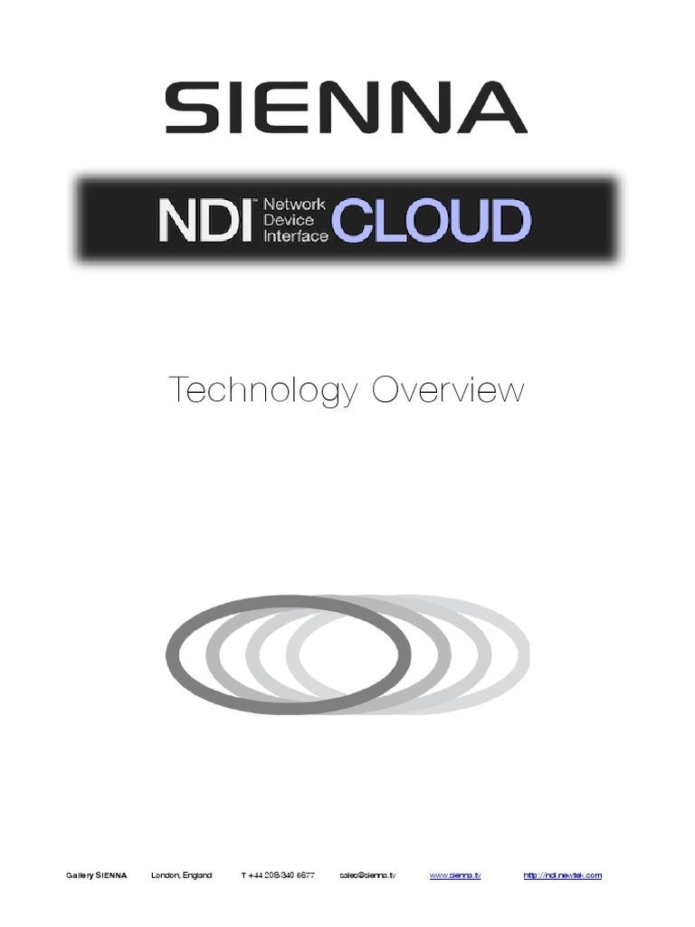 NDI.cloud White Paper | Node (Networking) | Cloud Computing