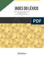 Variedades Do Léxico Letraria
