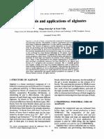 Ertesvag & Valla (1997) Biosynthesis & Aplitactions of Alginates