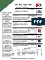 4.18.17 Minor League Report
