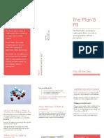 plan b brochure