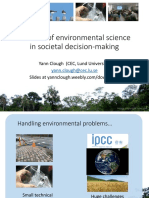 slides the role of environmental science in societal decision making