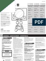 95 Sony PS1 5501-Manual