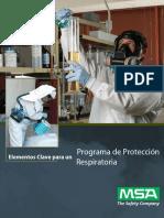 Programa MSA Protección Respiratoria