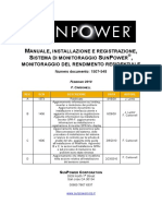 Manuale Sistema Monitoraggio SunPower
