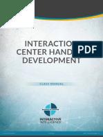 CIC IntHandlerDevelopment ClassManual Student 121416