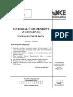Geografia Próbna PR Styczen 2010