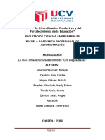 Informe de Redaccion Universitaria