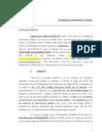 Denuncia Penal Por Abuso de Autoridad y Cohecho Tema Escobar