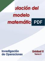 INO-443 Unidad II Tema 3