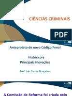 Slide Novo Código Penal