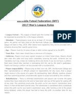 League Rules 17