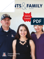 University of Arizona Parents & Family Magazine, Spring 2017