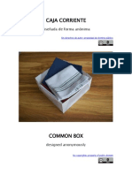 Caja Corriente - Common Box