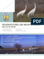 SABP Stakeholder Meeting - Whooping Cranes and Freshwater Ponds 4.18.16 v1