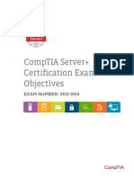 02083 Server Exam Objectives Online