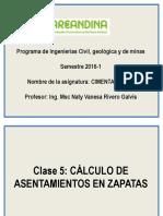 Clase 5 Calculo de Asentamientos Zapatas