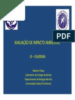 Avaliação de Impacto Ambiental 3 - Eia-rima