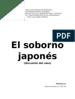 Caso El Soborno Japones