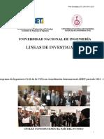 Lineas de Investigación FIC-UNI