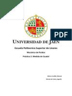 Práctica2-MedidaCaudal
