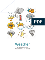 weather lesson plan project  2